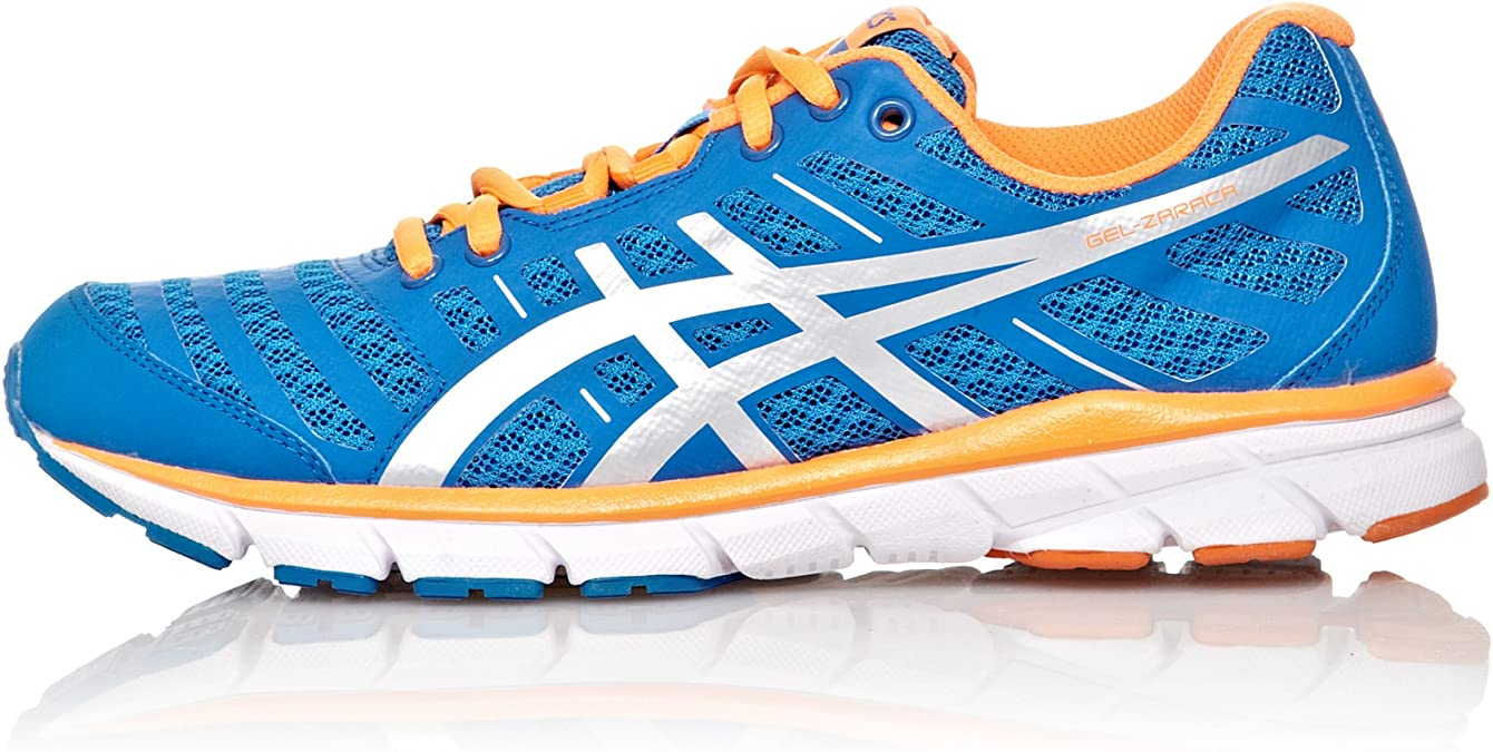 ASICS Zapatillas Running Gel-Zaraca 2 Azul/Plata/Naranja EU 39,5: Amazon.es: Zapatos y complementos