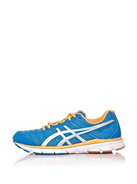 ASICS Zapatillas Running Gel-Zaraca 2 Azul/Plata / Naranja EU 39,5: Amazon.es: Zapatos y complementos