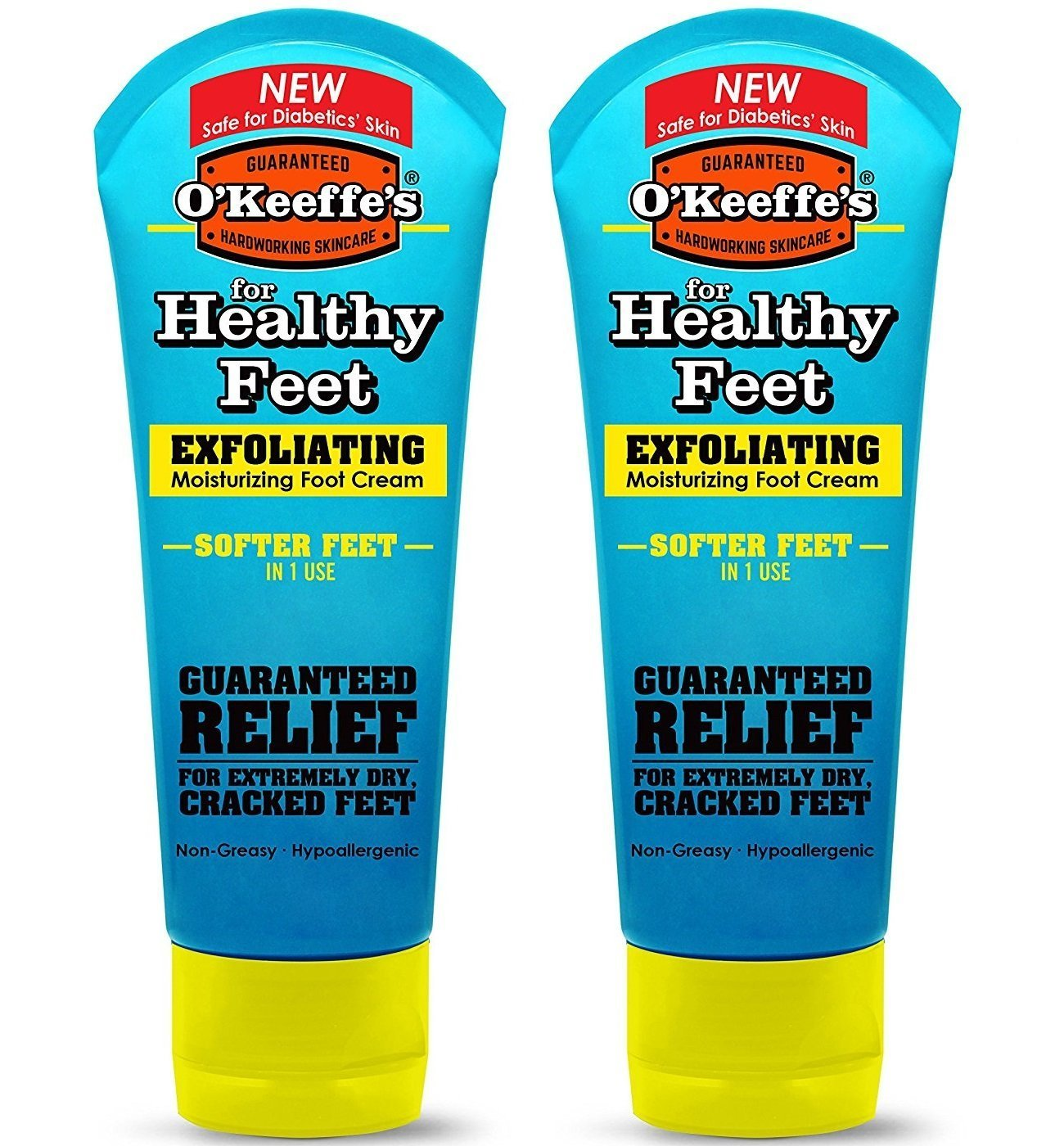 O'Keeffe's For Healthy Feet Exfoliating Moisturizing Foot Cream - 3 oz, Pack of 2 GORILLA GLUE COMPANY
