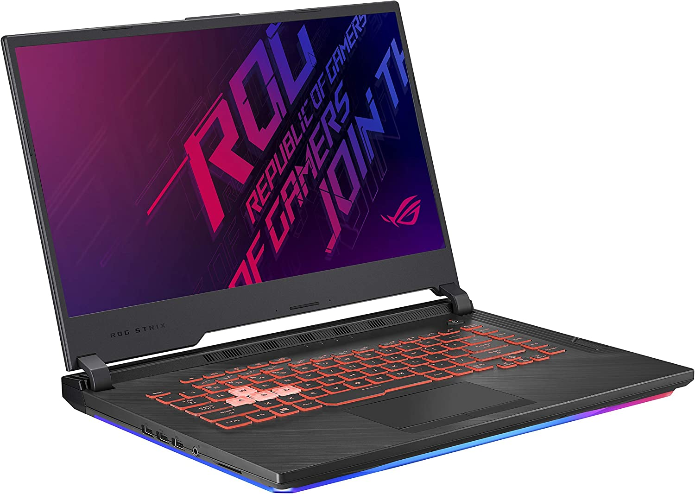 "Asus ROG Strix G (2019) Gaming Laptop, 15.6"" IPS Type FHD, NVIDIA GeForce GTX 1650, Intel Core i7-9750H, 16GB DDR4, 1TB PCIe Nvme SSD, RGB KB, Windows 10 Home, GL531GT-EB76 (Renewed)"
