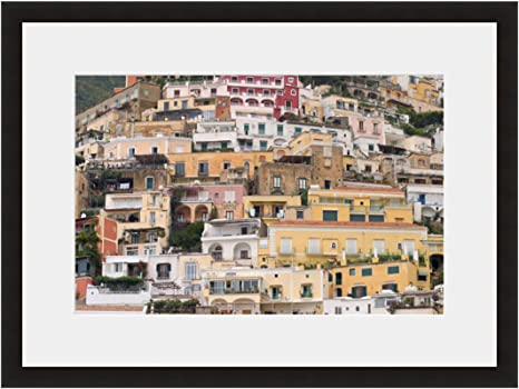 Amazon Com Eframe Fine Art Italian Hillside Village By Robert Evans 12 X 18 Framed And Unframed Wall Art For Wall Decor Or Home Decor Black Frame Posters Prints