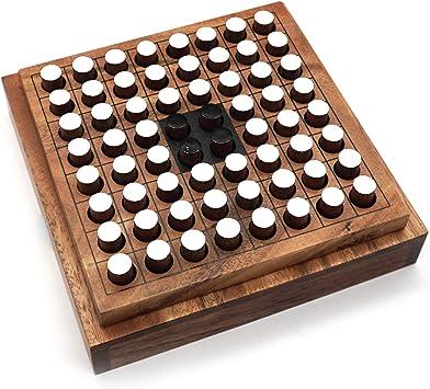 Juego de mesa clásico Othello Estrategia Juegos de la Familia Juegos para Adultos y Niños que
