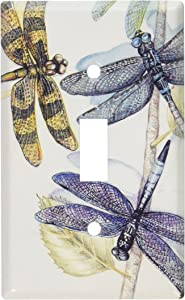 Art Plates - Dragonflies Switch Plate - Single Toggle