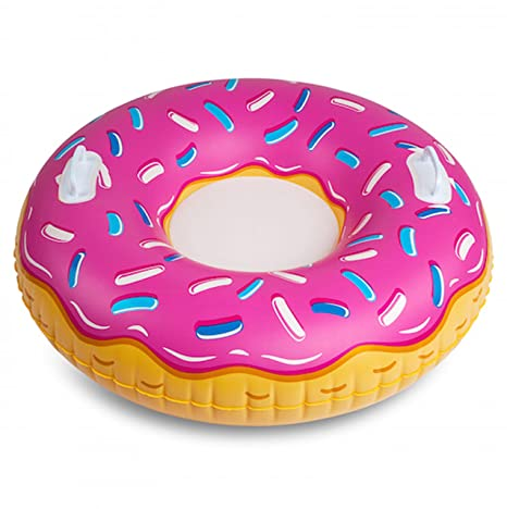 BigMouth Inc BMT-BMST-PD Trineo hinchable donut fresa ...