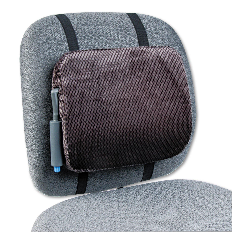 Rubbermaid 8248ELD - Adjustable Backrest w/Pushbutton Pump, 12-7/8w x 2-3/4d x 10-3/4h, Gray-RCP8248ELD