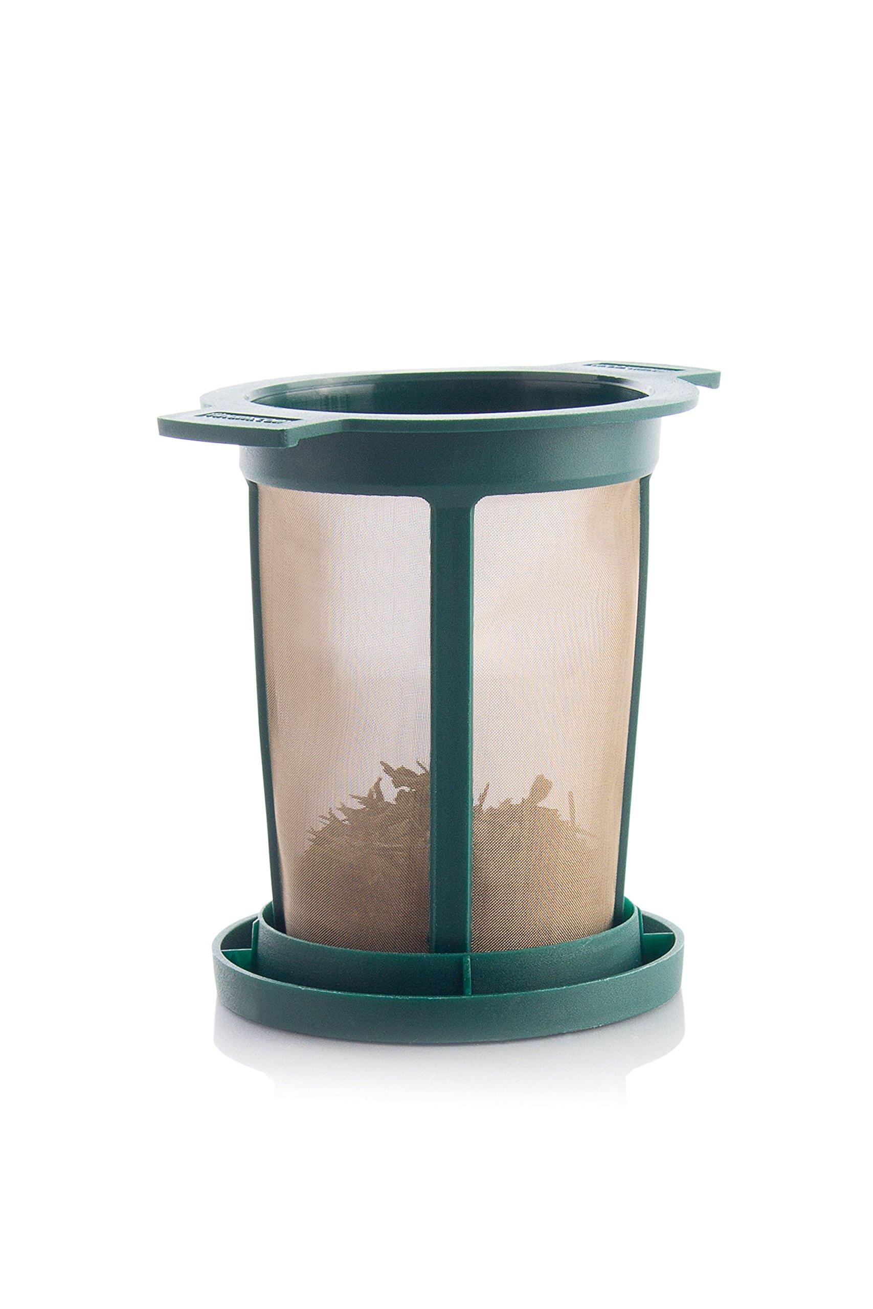 Brewing Basket L - Permanent Tea Filter, green (18 retail units per Case)