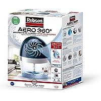 Rubson AERO 360º Deshumidificador recargable sin cable, absorbe humedad, previene la condensación y los malos olores…