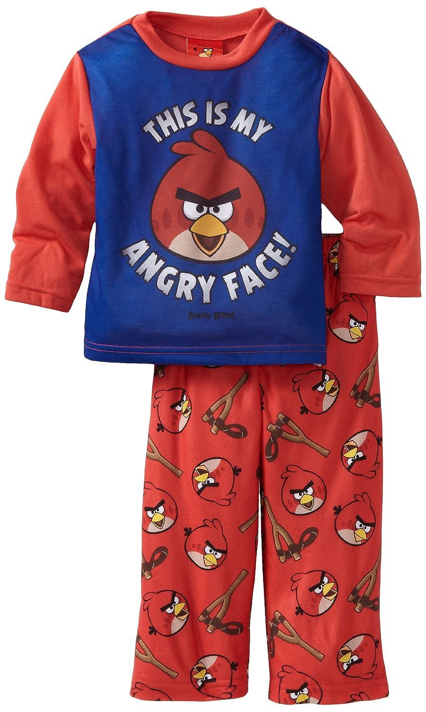 AME Sleepwear Little Boys' My Angry Face II 2 Piece Pajama