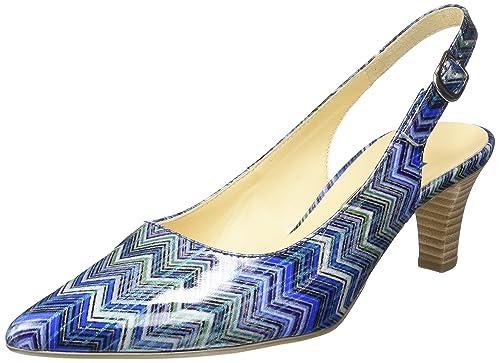 3dc0b43a66cc Gabor Shoes 41.550 Damen Slingback Pumps ,Blau (96 blau kombi) ,35.5 ...