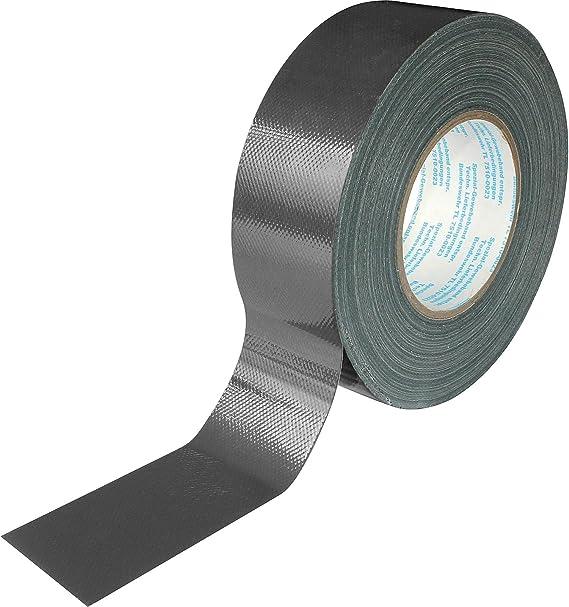 VELLEMAN VDLHPX5050B2 Gewebeklebeband 50mm breit 50m schwarz wasserfest