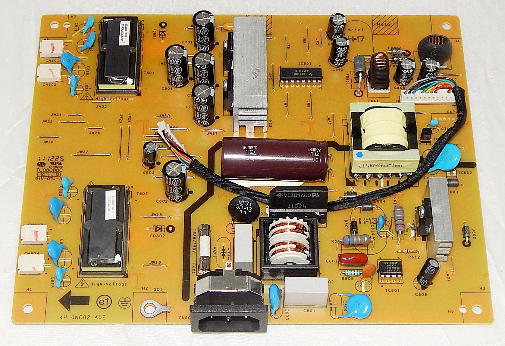Galleon - ASUS 4H 0NC02 A02 Monitor Inverter Power Board