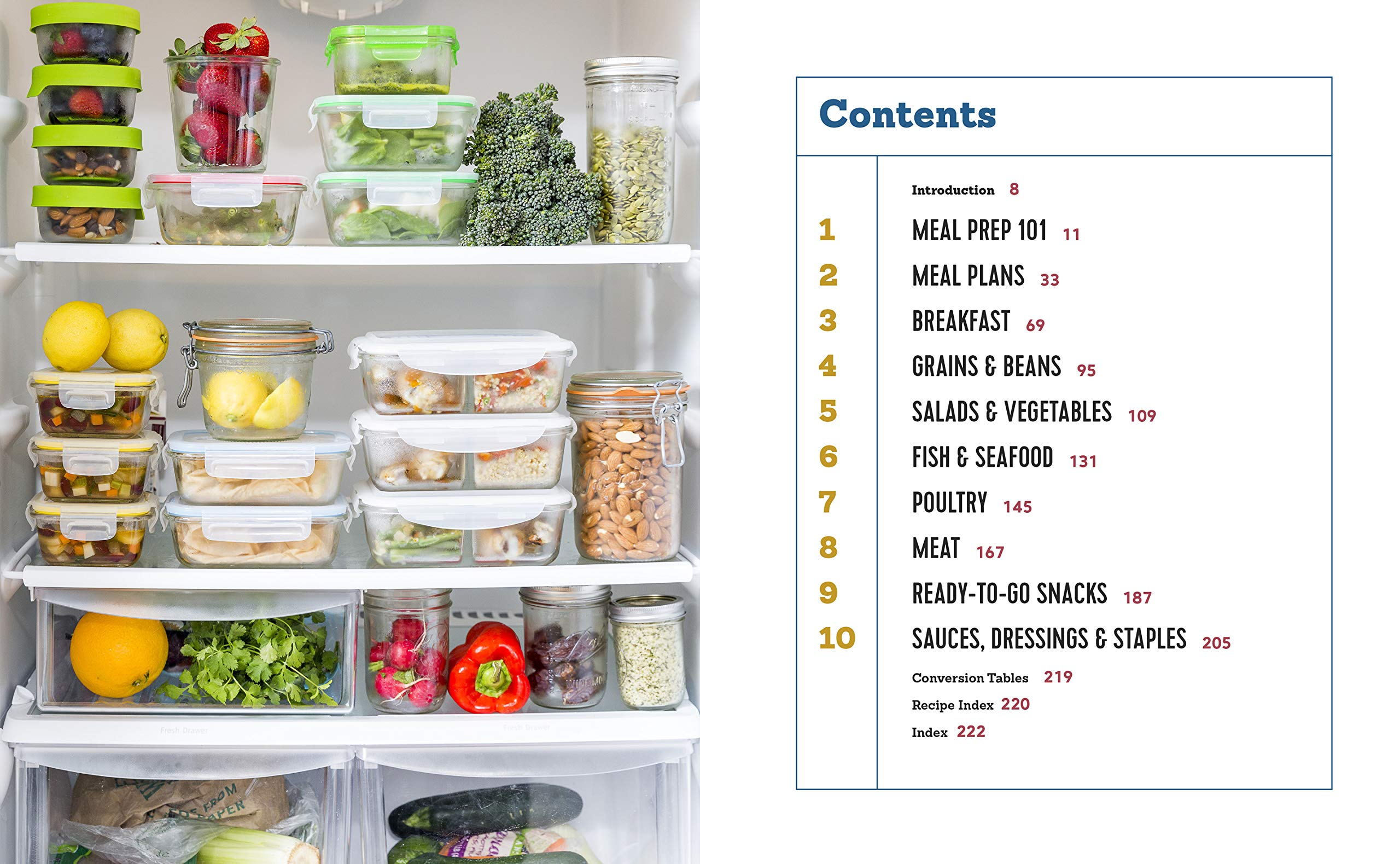 The Healthy Meal Prep Cookbook: Easy and Wholesome Meals to Cook