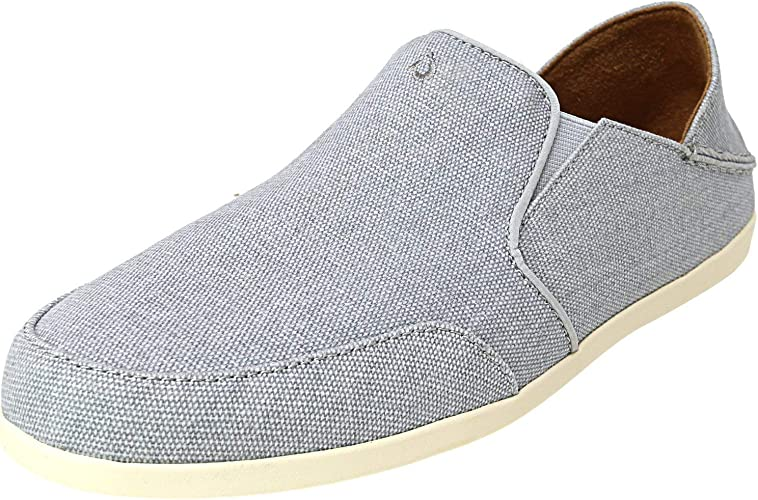 Waialua Canvas Ankle-High Fabric Slip