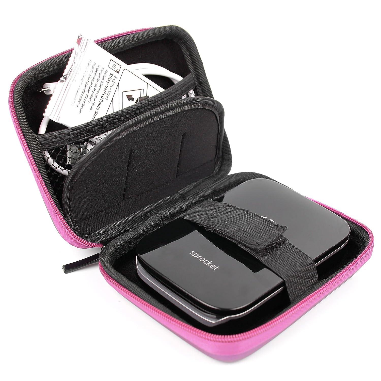 DURAGADGET Funda Rígida Rosa Para Impresora fotográfica portátil HP Sprocket  Polaroid