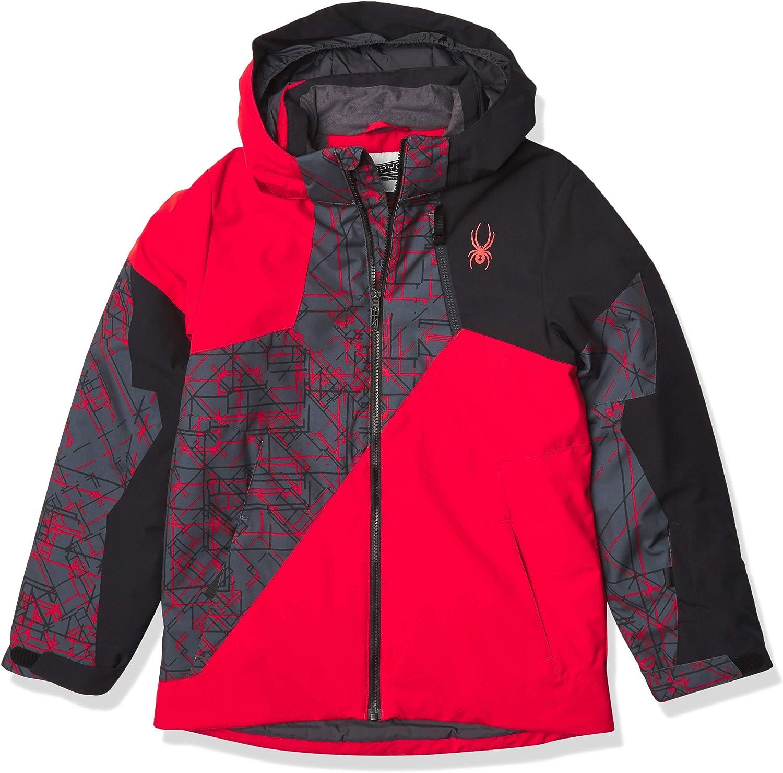 Spyder boys Ambush Ski Jacket : Clothing