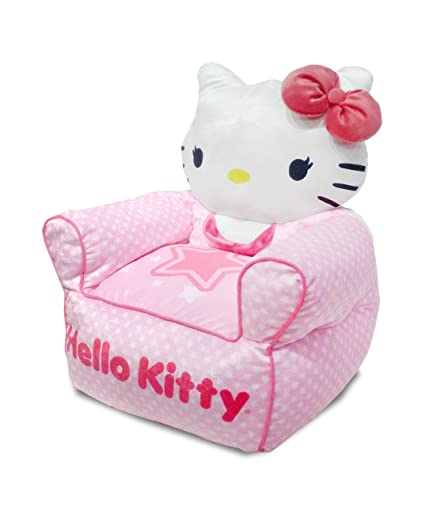 Image Unavailable. Image not available for. Color  Sanrio Hello Kitty  Figural Toddler Bean Bag Sofa Chair 246098d35257a