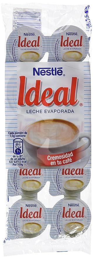 Nestlé Ideal - Leche evaporada - 6 Paquetes de 71 ml: Amazon.es ...