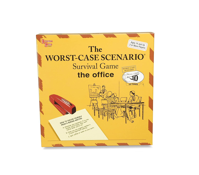 Amazon.com: Worst Case Scenario Office Board Worst Case Scenario Game: Toys  & Games