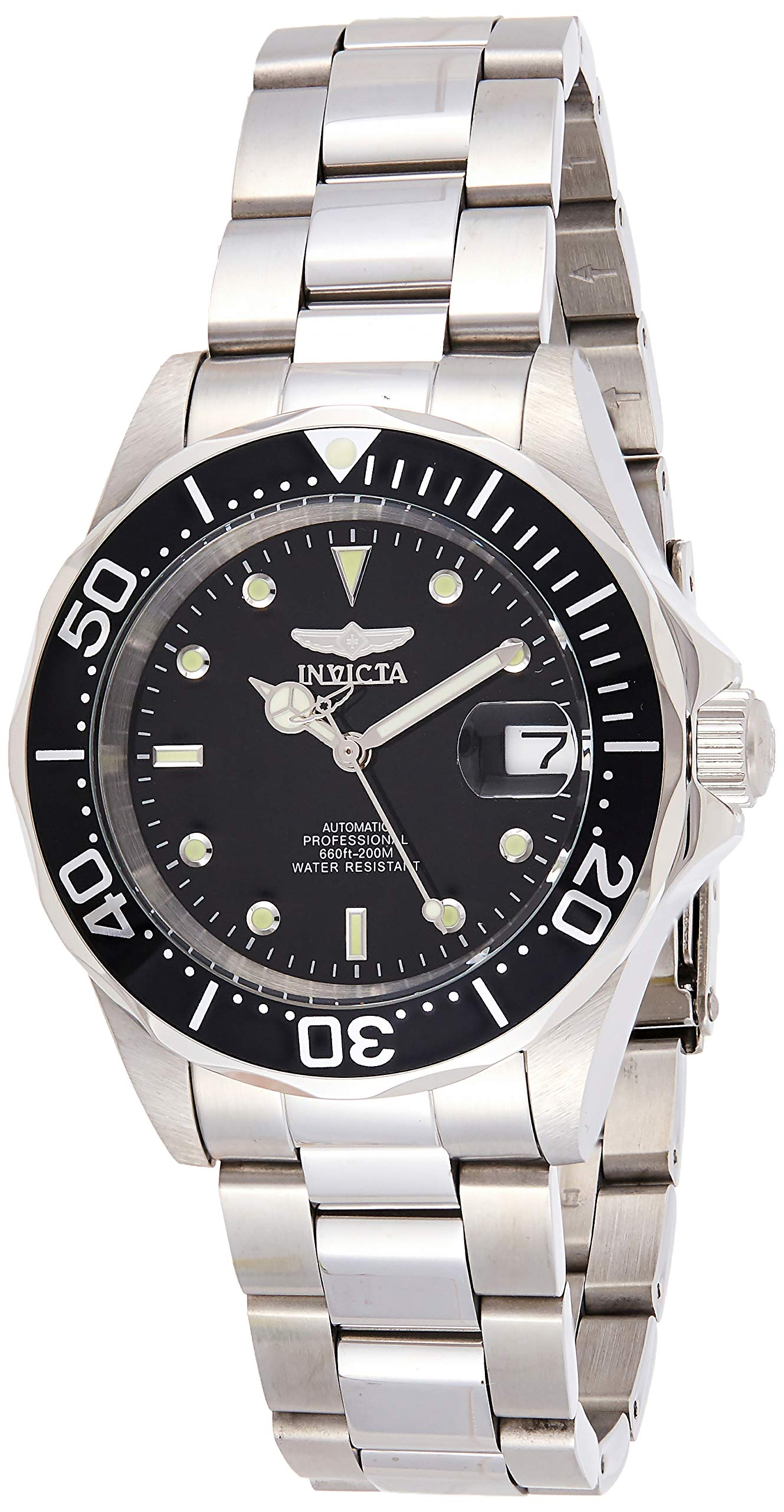 Invicta Men's Pro Diver 40mm Stainless Steel Automatic Watch, Silver (Model: 8926)