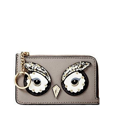 2a81e85eea904 Image Unavailable. Image not available for. Color  Kate Spade Owl Poppy Star  Bright Wallet