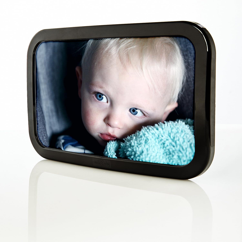 smileBaby verstellbarer Auto Babyschalenspiegel R/ücksitzspiegel