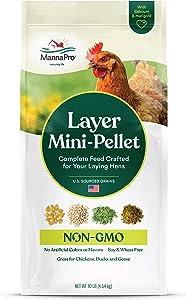 Manna Pro Layer Mini-Pellet | Non-GMO | 10 LB