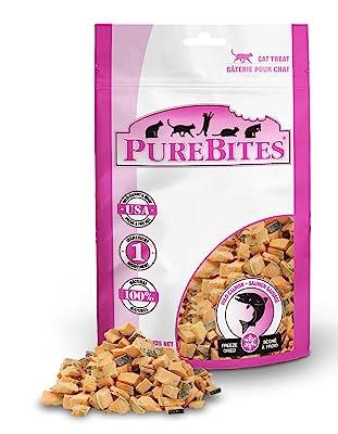 PureBites Salmon Freeze-Dried cat treats