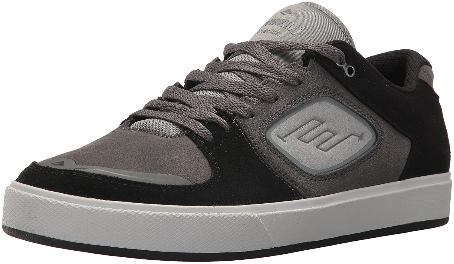 Emerica Men's Reynolds G6 Skate Shoe 13 D(M) US|Black/Grey