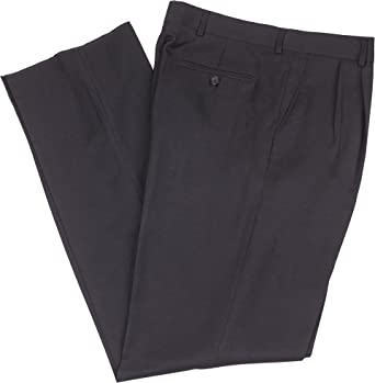 Leggs $75 Wrinkle Resistant Washable Gabardine Men's Dress Pants 2 Pleats Mr