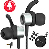 MINDBEAST Noise Cancelling Headphones Wired Earbuds For Kids And Adults With Microphone And Case – Xbox One Headset Gaming Earbuds For Samsung Galaxy Android iPhone, Extra Bass For Sleep Sport Workout