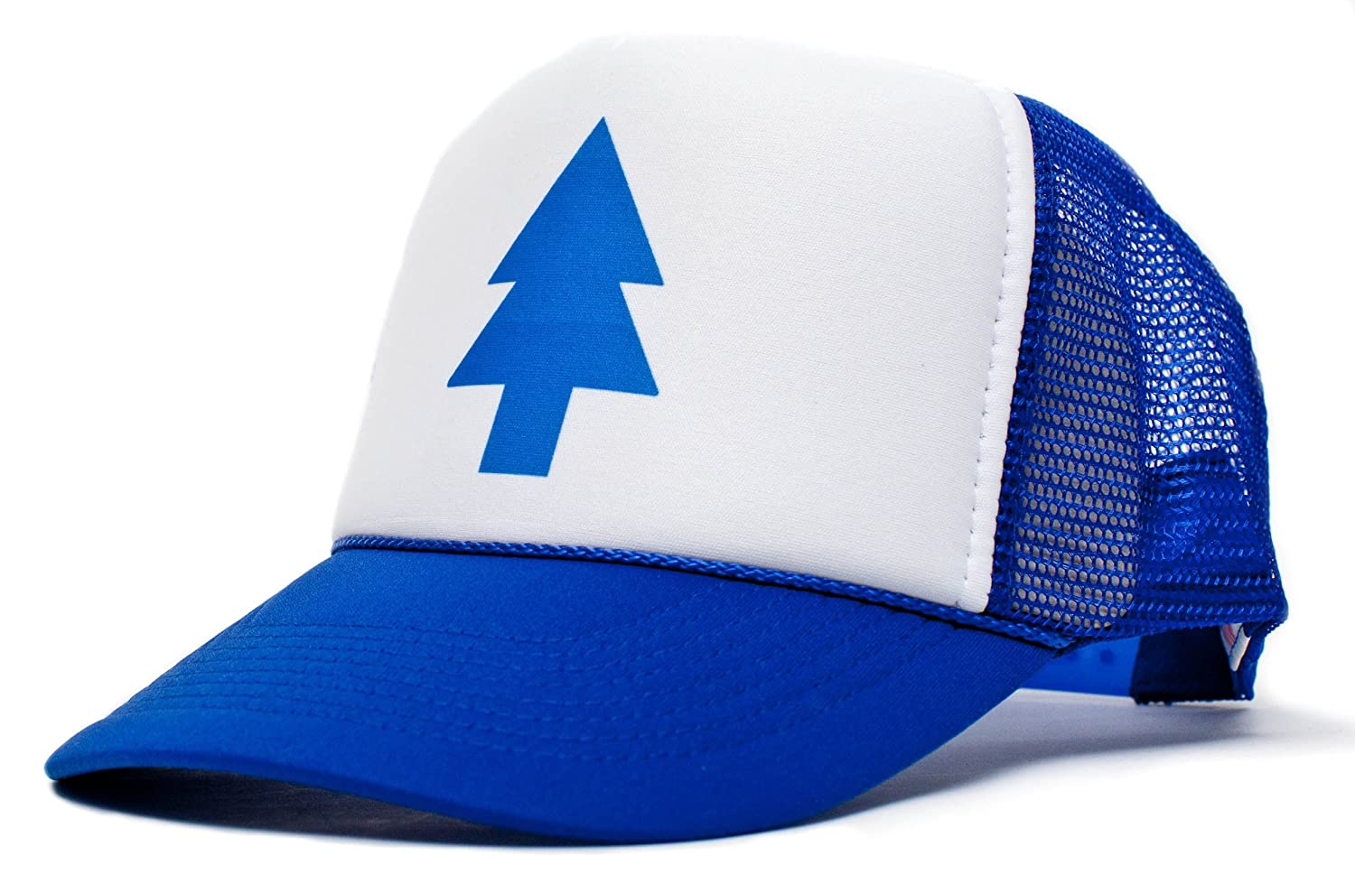Amazon.com  Posse Comitatus Dippers Blue Pine Tree Unisex-Adult Trucker Hat  -One-Size Royal White  Sports   Outdoors 3327956c4a2