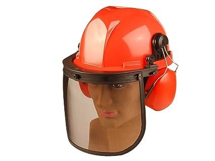 ALM Manufacturing CH011 - Casco de seguridad para trabajos con motosierra