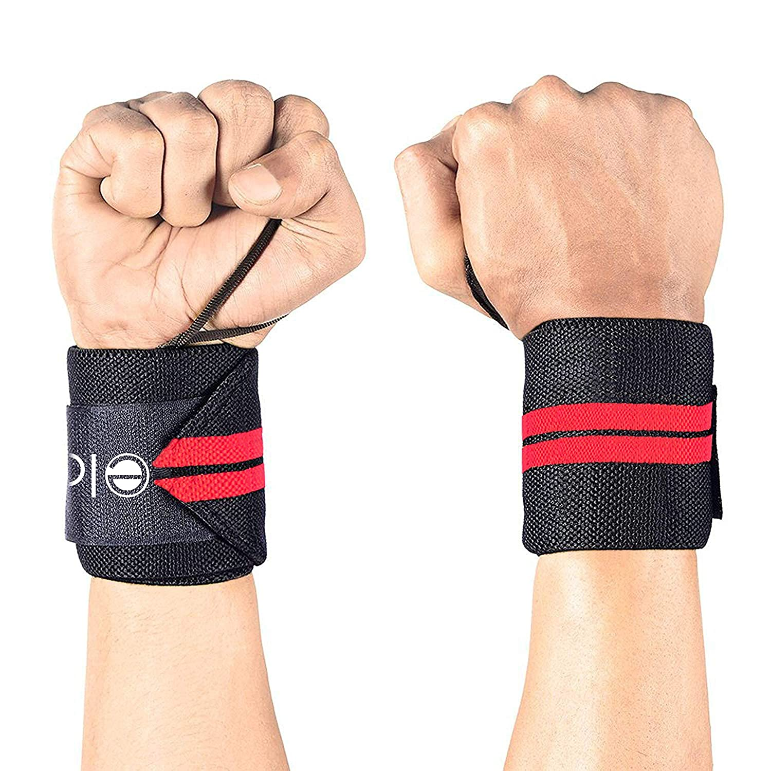 Elove Wrist Wraps Support With Thumb Loops - Professional Grade Wrist  Braces for Men & Women - Weight Lifting, Crossfit, Powerlifting,  Strength,Training, ...