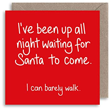 Funny rude christmas card naughty santa joke christmas card funny rude christmas card naughty santa joke christmas card humour xmas card alternative m4hsunfo