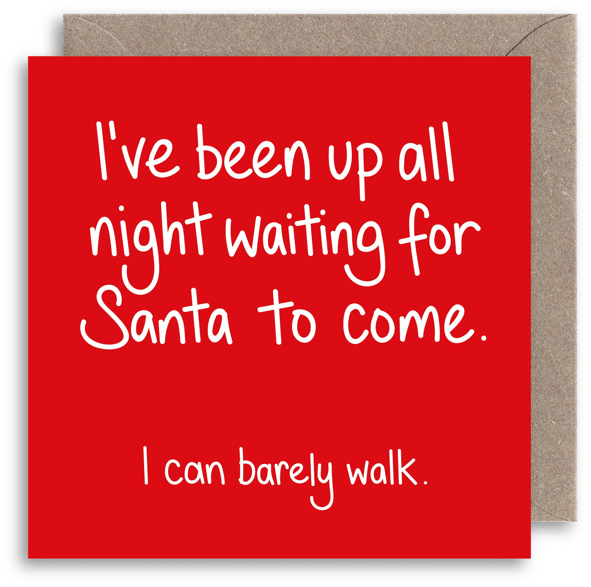Sarcastic christmas cards amazon funny rude christmas card naughty santa joke christmas card humour xmas card alternative m4hsunfo
