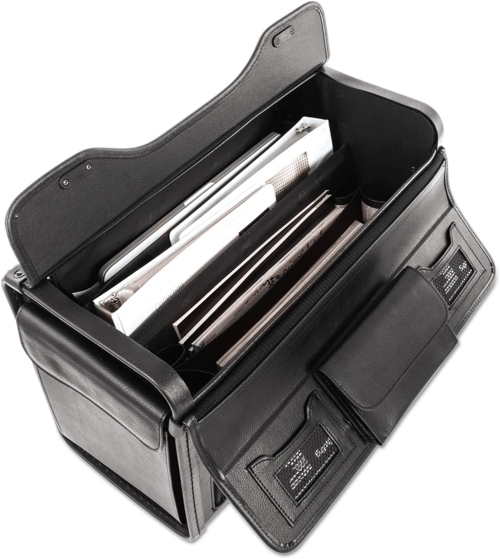 Koskin Black 19 x 9 x 15-1//2 Bond Street 456110BLK Bond Street Collection Catalog Case on Wheels