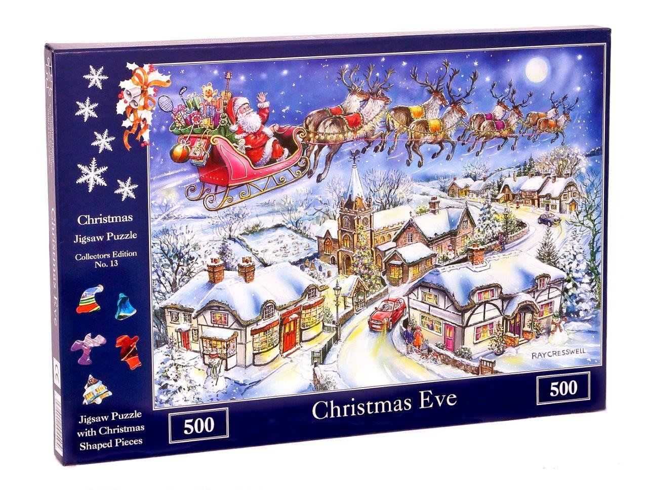 The House of Puzzles 500 Piece Jigsaw Puzzle - 2018 Christmas ...