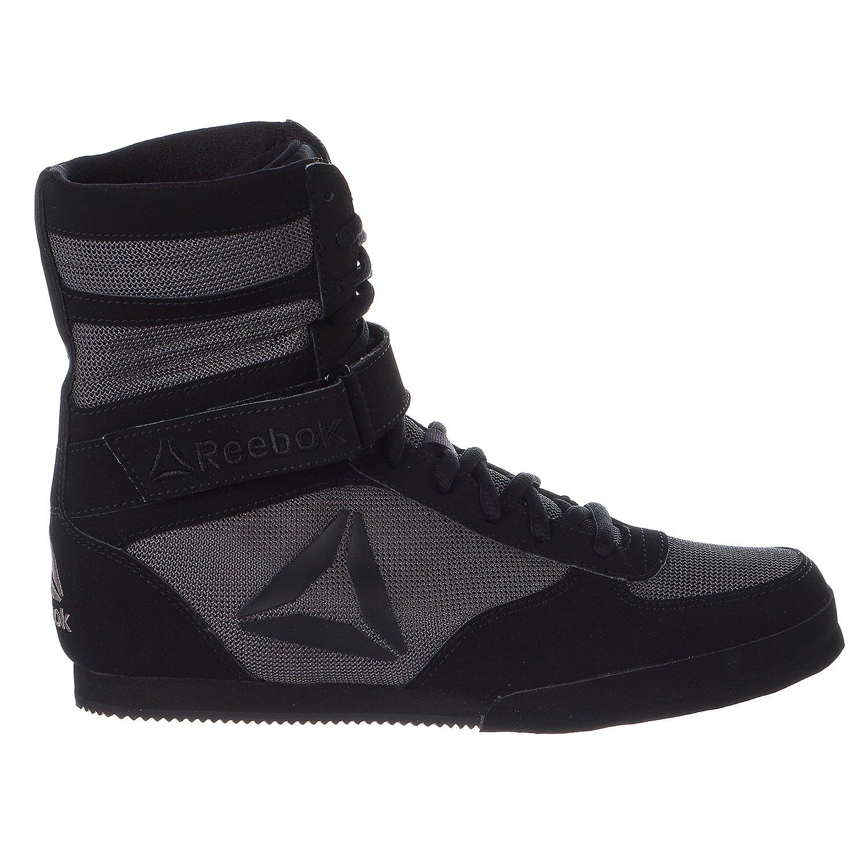 Reebok Boxing Boot - Buck Shoes - Black/Ash Grey - Mens - 11
