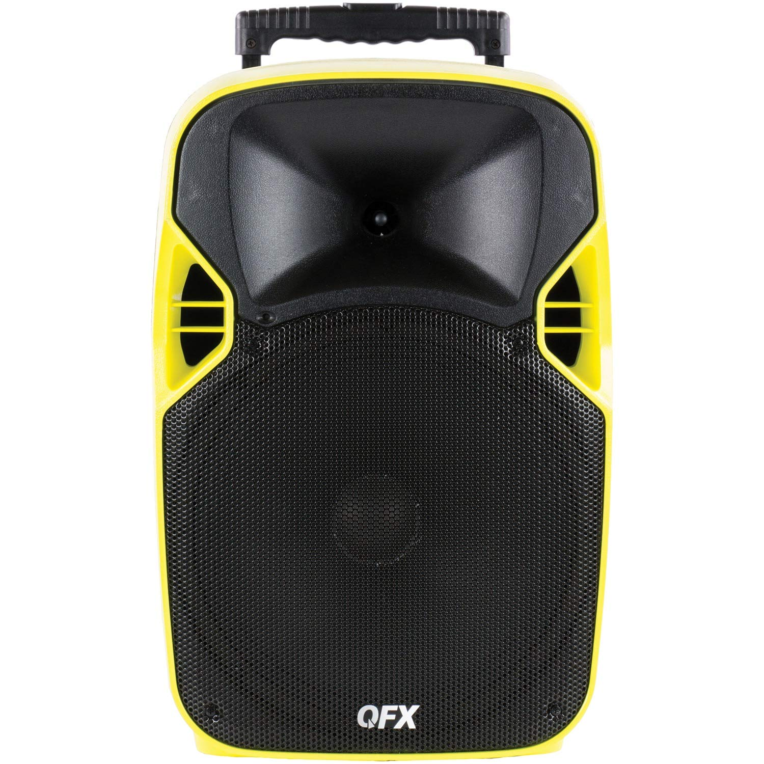 QFX PBX-6000 Portable Projector/Speaker with 70-inch Screen