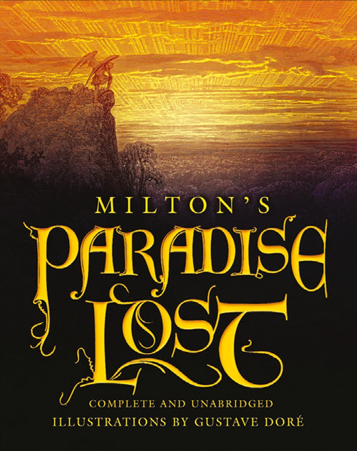 paradise lost deluxe slipcase gift edition amazon co uk john  paradise lost deluxe slipcase gift edition amazon co uk john milton gustave dore 9781782124238 books