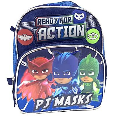 PJ Masks Catboy Gekko Owlette Toddler Mini 10 inches backpack- Ready For Action | Kids' Backpacks