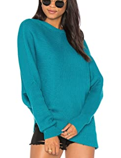 6cd0c4cba0 Free People Womens Downtown Ribbed Knit Asymmetrical Pullover Sweater