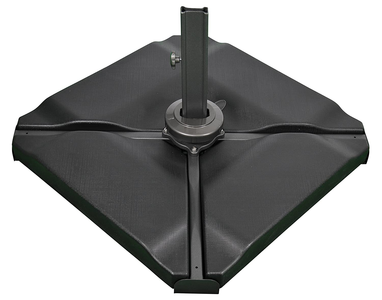 Cantilever Parasol Base Square Banana Umbrella Stand Sand Water 80kg Christow