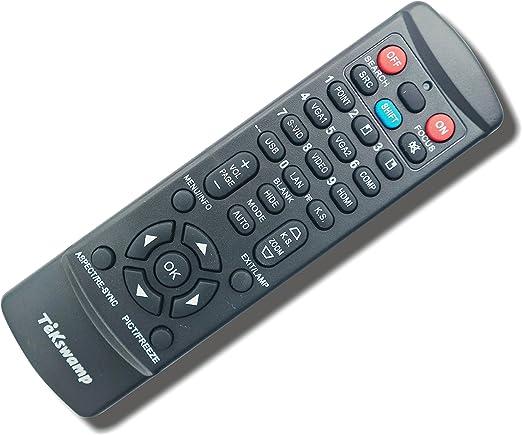 Tekswamp TV Remote Control for Mitsubishi LT-52153