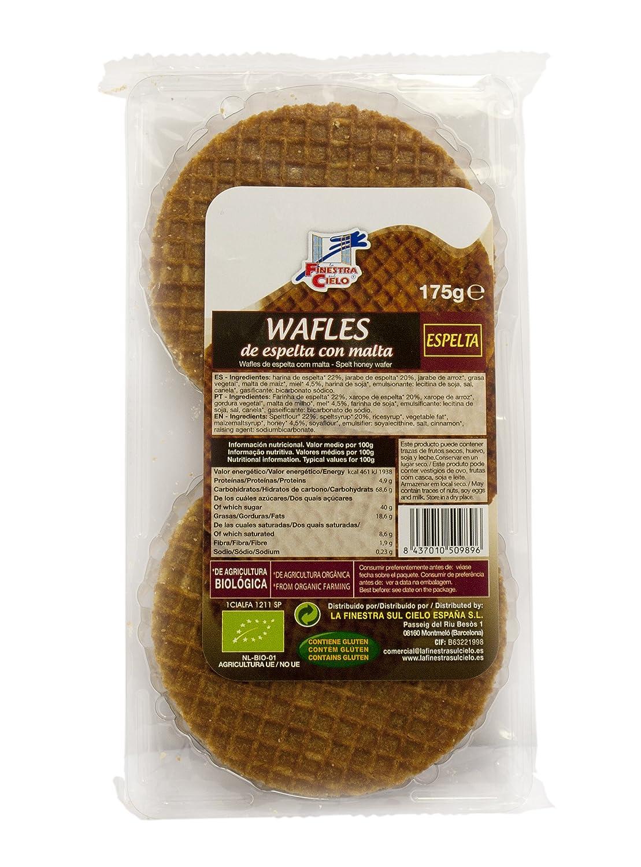 La Finestra Sul Cielo Waffles - Paquete de 12 x 175 gr - Total: 2100 gr: Amazon.es: Alimentación y bebidas