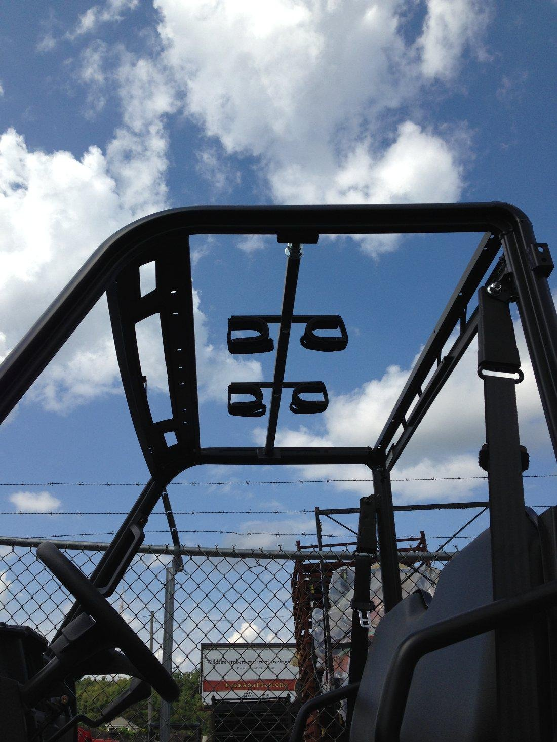 xp 900, 570 Full size, and 900 Crew Ranger- UTV Overhead Gun Rack by Great Day DAYQD8580GR by Great Day