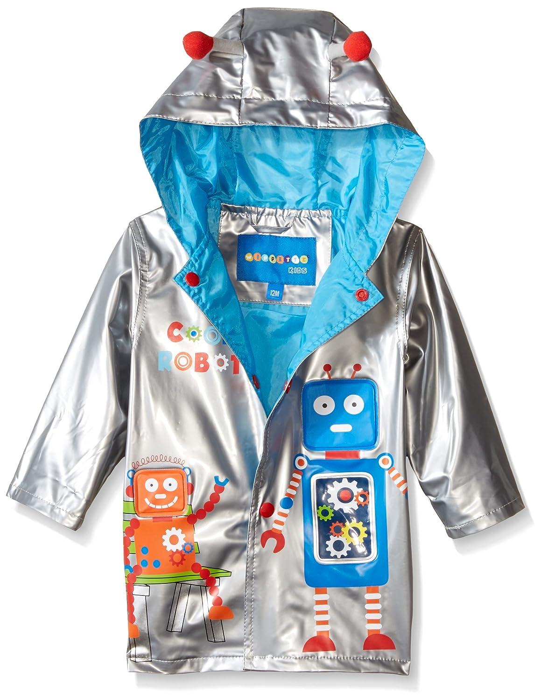 Wippette Baby Boys' Robot Rainwear Wippette Baby Robot Rainwear Navy 12 Months WB665043