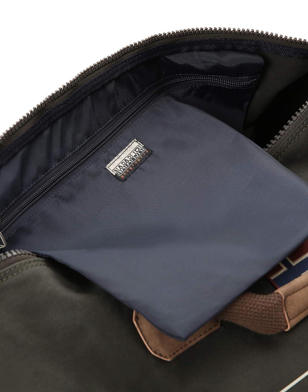- N0YIY4 Napapijri Sac de Sport Grand Format Bleu Blu Marine