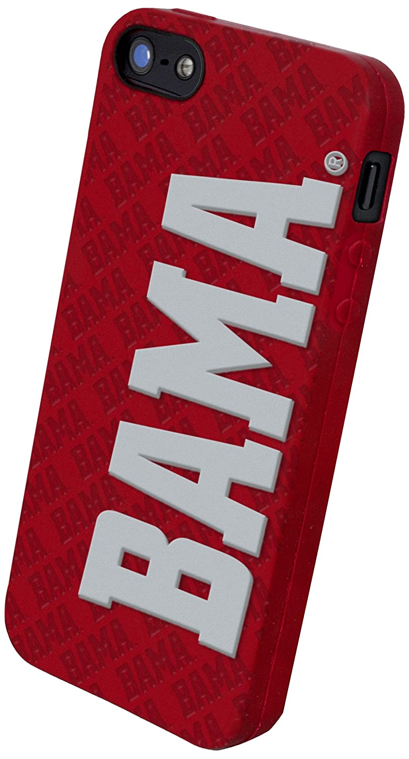 best wholesaler ever popular various colors Forever Collectibles NCAA Alabama Crimson Tide Silicone Apple iPhone 5 / 5S  Case