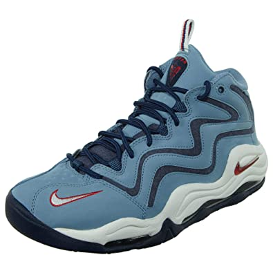 Image Unavailable. Image not available for. Color  Nike Air Pippen Men s  Basketball Shoes Work Blue University Red 325001-403 ... 76a64d506
